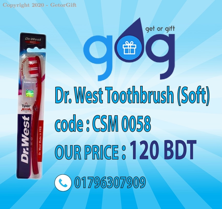 Dr. West Toothbrush (Soft)