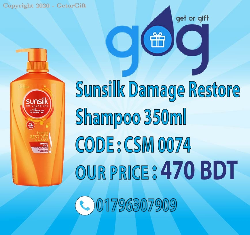 Sunsilk Damage Restore Shampoo 350±30ml