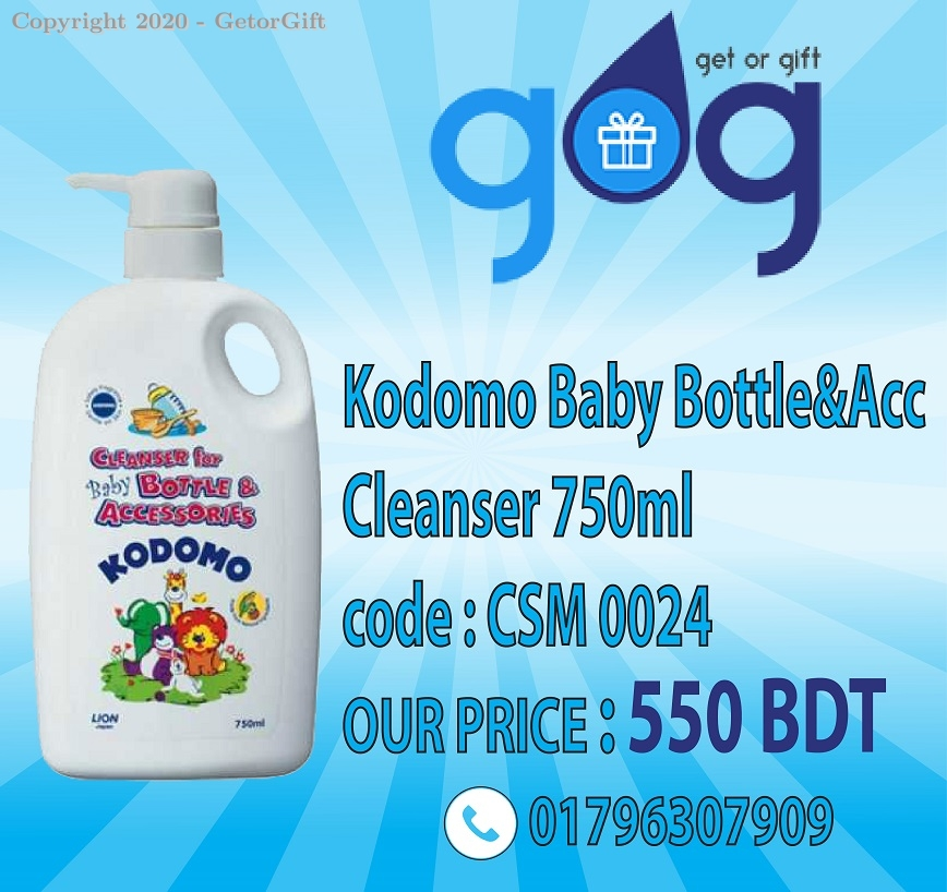 Kodomo Baby Bottle&Acc Cleanser 750ml